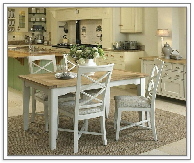Ivory Painted Dining Table – Home Furniture Ideas Within Popular Ivory Painted Dining Tables (View 6 of 20)