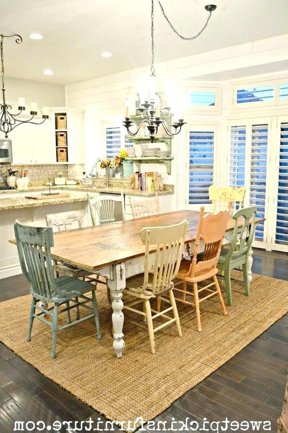 Ivory Painted Dining Tables Inside Trendy Dining Table Espresso Color Dining Furniture Painted Room Tables (View 7 of 20)
