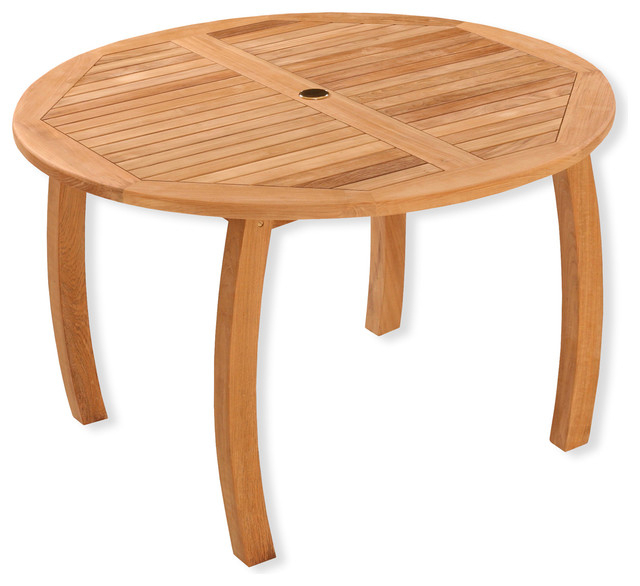Jakarta Round Dining Table – Contemporary – Outdoor Dining Tables Throughout Most Popular Outdoor Tortuga Dining Tables (Gallery 10 of 20)