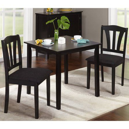 Jaxon Grey 7 Piece Rectangle Extension Dining Sets With Wood Chairs Inside Well Known Free Shipping. Buy Metropolitan 3 Piece Dining Set, Multiple (Gallery 6 of 20)