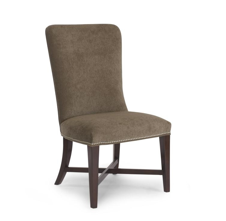 Jaxon Grey Upholstered Side Chairs Throughout Trendy 3498S – Jaxon Side Chair (Gallery 2 of 20)