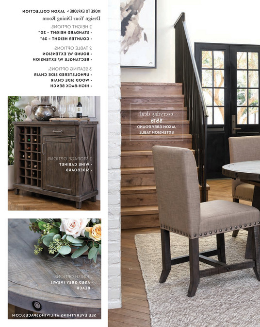 Jaxon Round Extension Dining Tables Pertaining To Popular Living Spaces – Spring 2018 – Jaxon Grey Round Extension Dining Table (View 5 of 20)