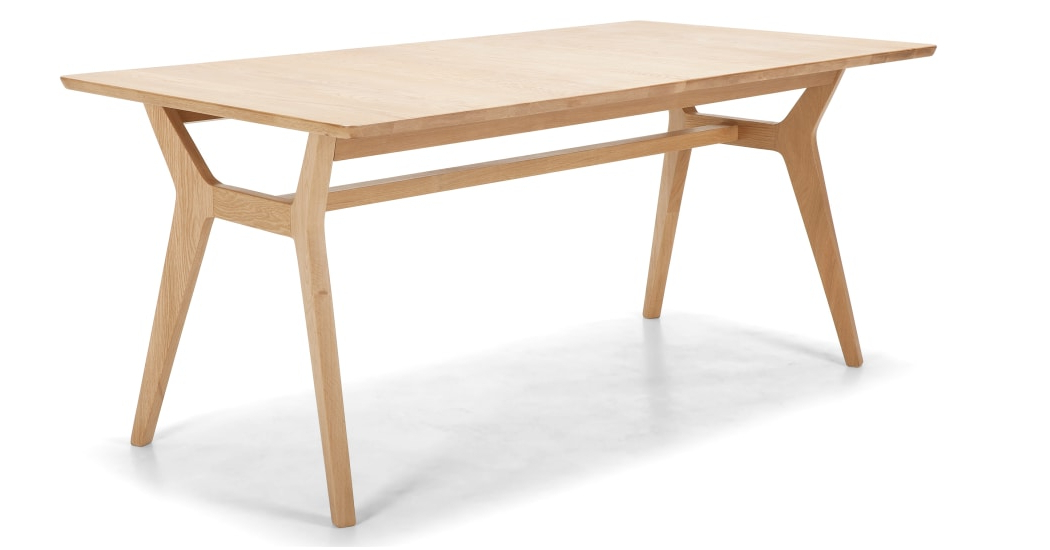 Jenson Extending Dining Table, Solid Oak (View 13 of 20)