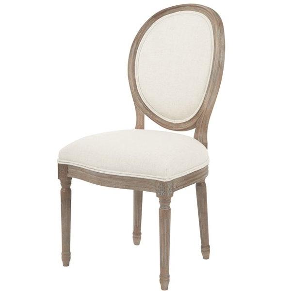 Joss & Main With Regard To Garten Linen Skirted Side Chairs Set Of  (View 7 of 20)