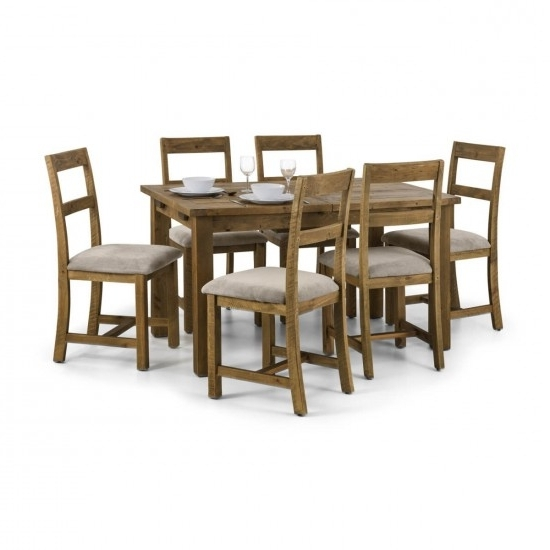 Julian Bowen Aspen Extending Wooden Dining Table And 4 Aspen Dining With Most Up To Date Aspen Dining Tables (View 4 of 20)