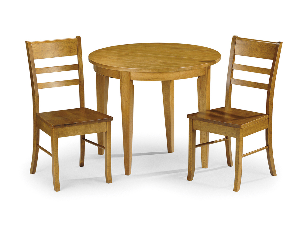Julian Bowen Consort 90cm Honey Pine Half Moon Round Wrought Iron With Current Round Half Moon Dining Tables (View 14 of 20)