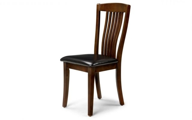 Kent Dining Chairs Inside Well Liked Julian Bowen Kent Mahogany Coloured Dining Chair – Dining Chairs And (View 8 of 20)