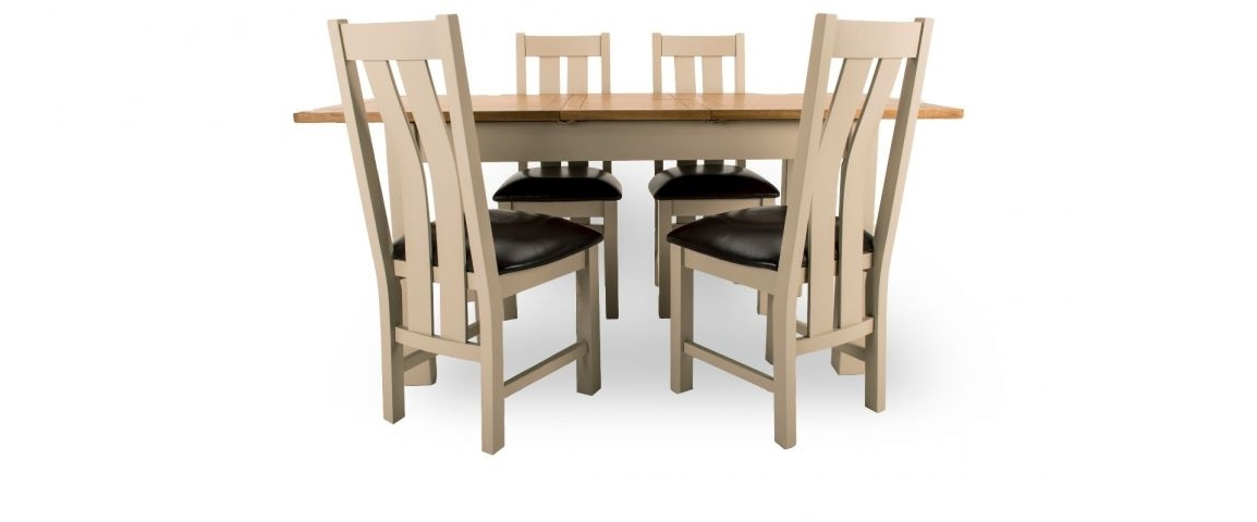 Kent Dining Chairs Pertaining To Most Recent Kent Extending Dining Table & 4 Chairs (View 13 of 20)