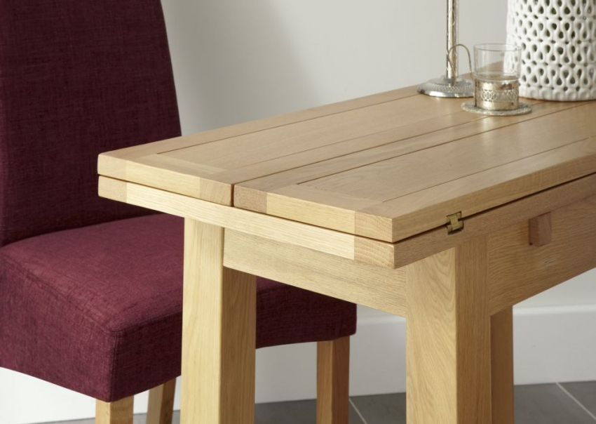 Kirkwall American White Oak Extending Dining Table – Thanet Beds In Most Popular Oak Dining Tables (View 7 of 20)
