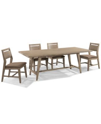 Kirsten 5 Piece Dining Sets For Well Known Kips Bay 5 Piece Dining Room Furniture Set With 4 Side Chairs (Gallery 10 of 20)