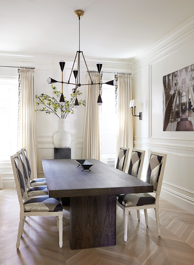 Kirsten 6 Piece Dining Sets Throughout Preferred 10 Dining Room Lighting Tips For The Perfect Ambience (View 4 of 20)