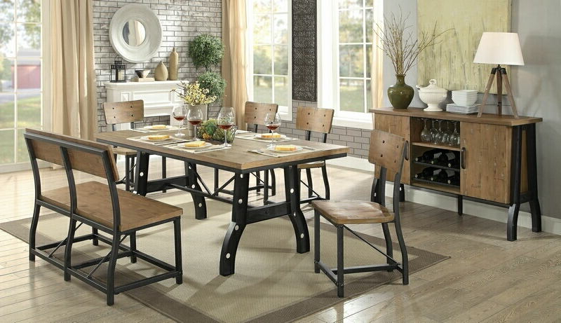 Featured Photo of Kirsten 6 Piece Dining Sets