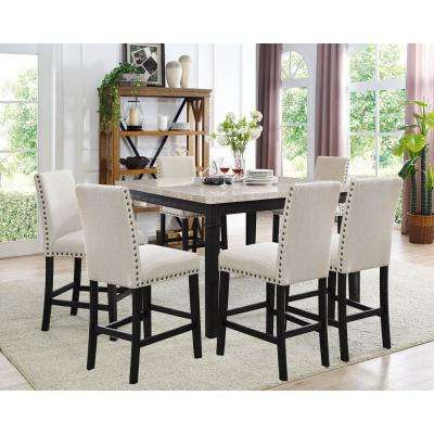 Kitchen Dining Sets Regarding Famous Dining Room Sets – Kitchen & Dining Room Furniture – The Home Depot (Gallery 15 of 20)