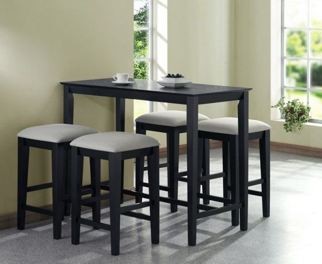 Kitchen Dining Sets With Regard To Well Known Ikea Kitchen Tables For Small Spaces (View 2 of 20)