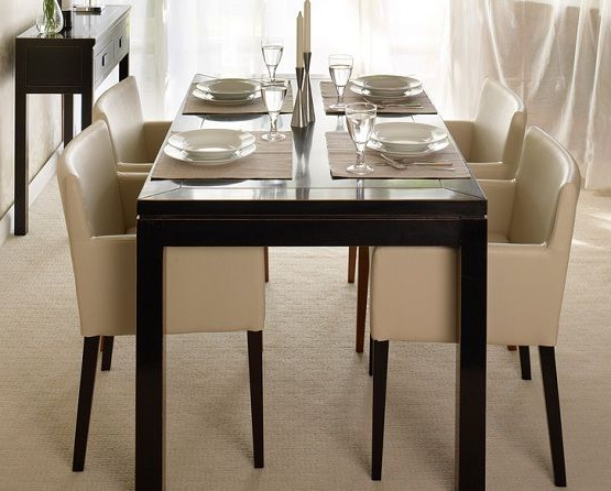 Featured Photo of Cream Lacquer Dining Tables