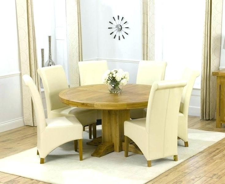 Kitchen Table Seats 6 Stunning Design Dining Room Tables With 6 Regarding Best And Newest 6 Seat Round Dining Tables (View 9 of 20)