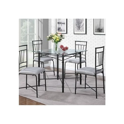 Kitchen Tables For Widely Used Chandler 7 Piece Extension Dining Sets With Wood Side Chairs (View 7 of 20)
