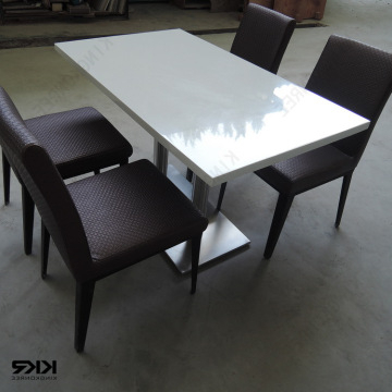 Kkr Dining Table, China Cheap Modern 2 Seater Dining Tables Quartz In Famous Stone Dining Tables (View 19 of 20)