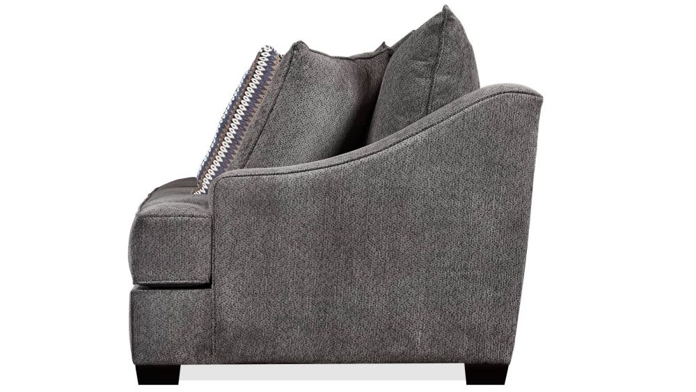 Kyle Charcoal Sofa For Trendy Kyle Side Chairs (View 17 of 20)