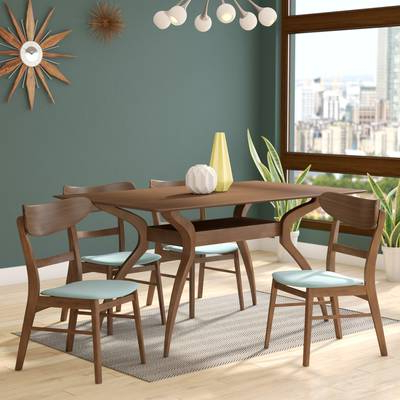 Langley Street Canning 5 Piece Dining Set & Reviews (View 4 of 20)