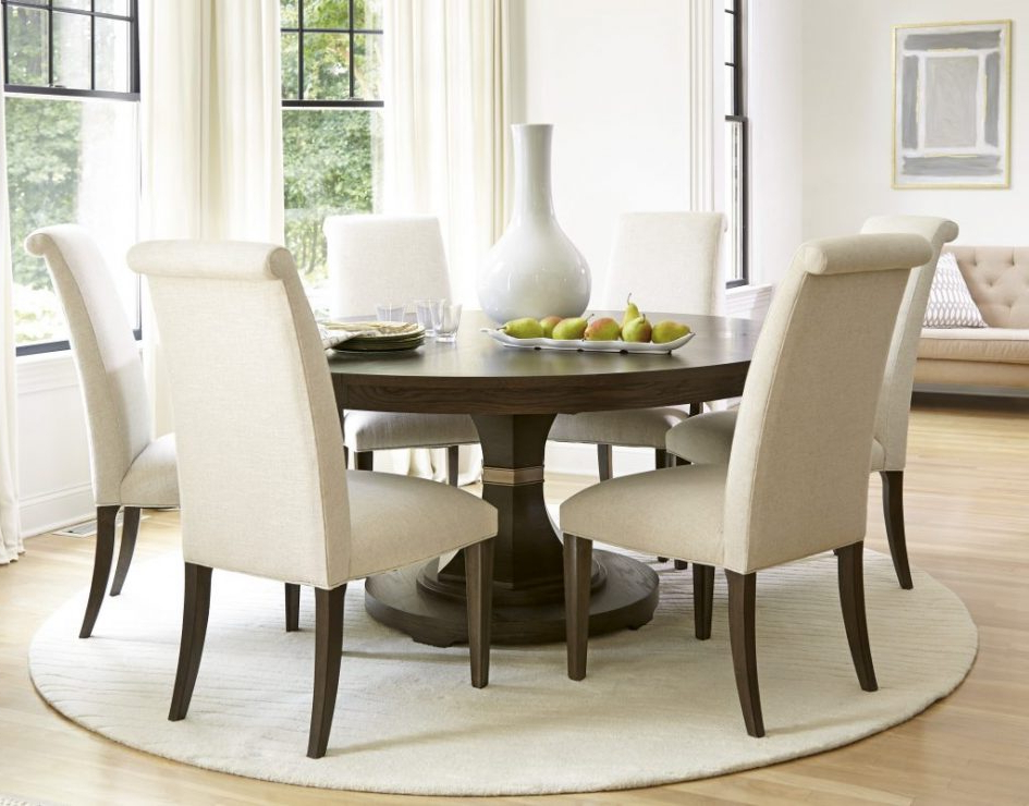 Large Circular Dining Tables For Fashionable Dining Set Furniture Circle Dining Table Set Dining Room Tables For (View 9 of 20)