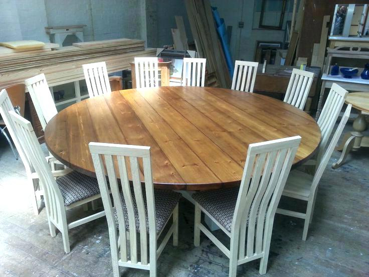 Large Circular Dining Tables With Regard To 2017 Dining Tables Seats 8 Round Dining Room Table Seats 8 Round Dining (Gallery 12 of 20)