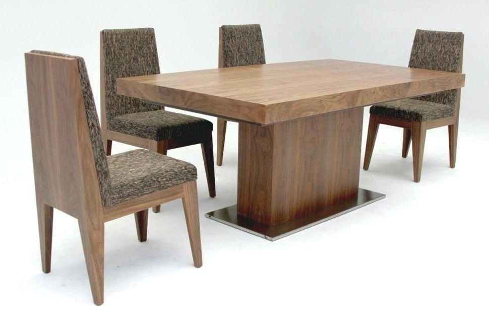 Large Folding Dining Tables Intended For Most Current Collapsible Round Dining Table Large Size Of Minimalist Dining (View 11 of 20)
