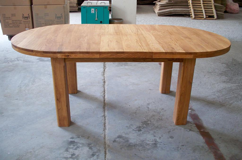 Large Round Dining For Round Dining Tables Extends To Oval (View 5 of 20)