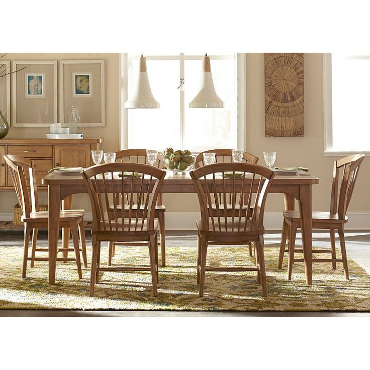 Lassen 7 Piece Extension Rectangle Dining Sets With Newest 18 Best Clophill Dining Room Trendy Vintage Images On Pinterest (View 10 of 20)