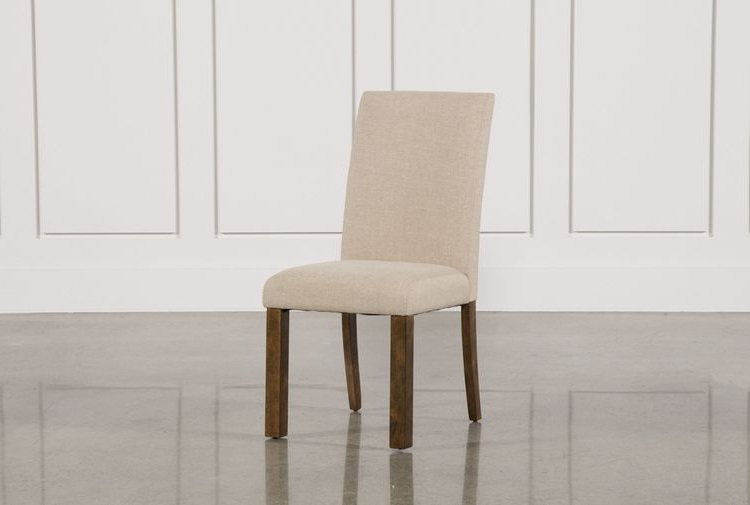 Lassen 7 Piece Extension Rectangle Dining Sets Within Popular Chandler Fabric Side Chair (View 11 of 20)