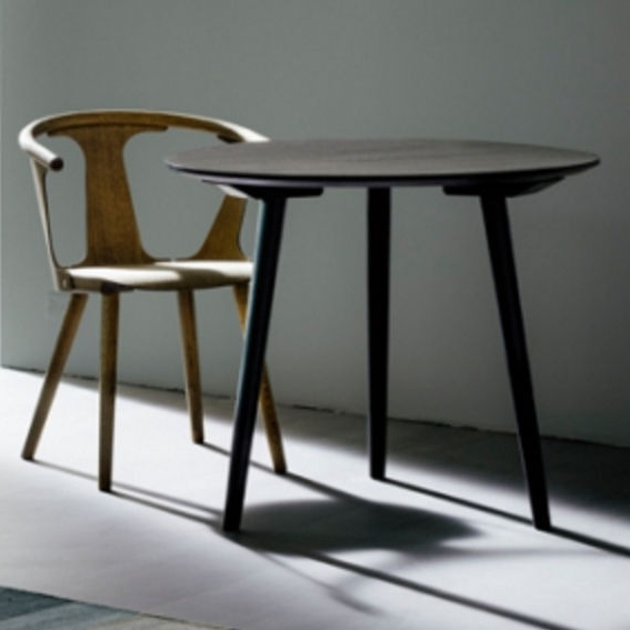 Lassen Round Dining Tables In Favorite Scandinavian Design Dining Table / Wooden / Round – In Between Sk3 (Gallery 8 of 20)
