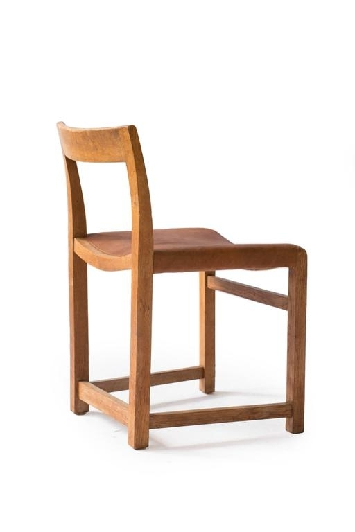 Lassen Side Chairs For Favorite Rare Mogens Lassen Oak Side Chair, 1934 At 1Stdibs (Gallery 12 of 20)