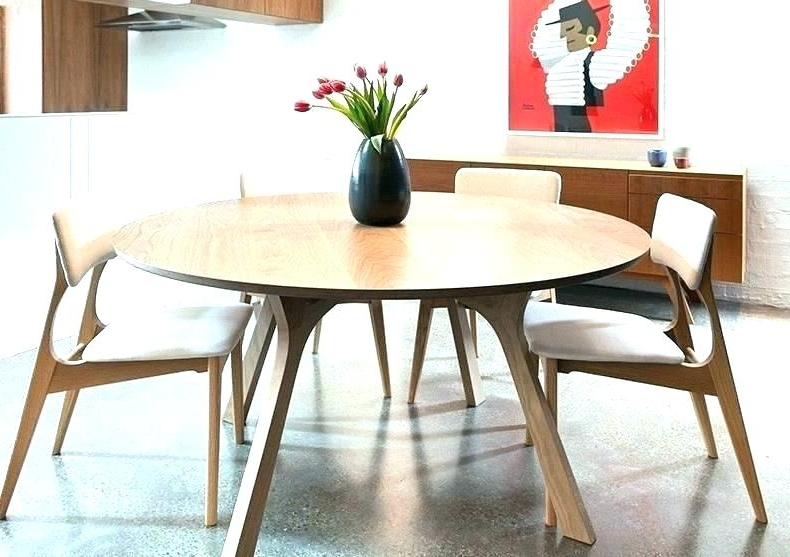 Latest 6 Seat Round Dining Tables Pertaining To Six Seat Round Dining Table – Bestplacestolive (Gallery 10 of 20)