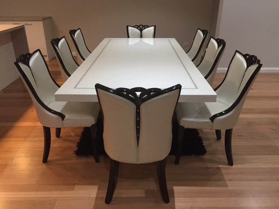 Latest A Dining Table And Four Chairs Might Just Be What Your Home Is For Dining Tables 8 Chairs Set (View 10 of 20)