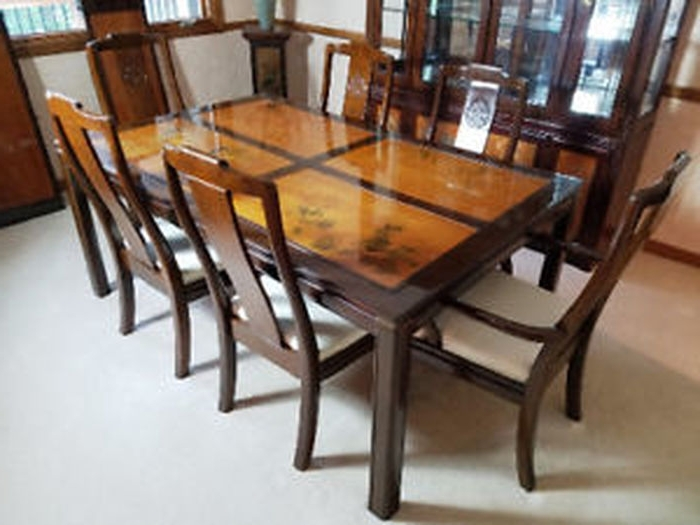 Latest Asian Dining Tables Inside (View 14 of 20)