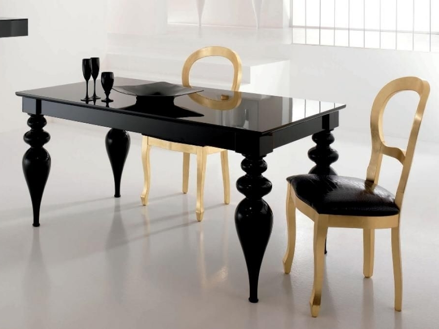Latest Black High Gloss Dining Tables Regarding Black High Gloss Dining Table – Google Search (View 9 of 20)