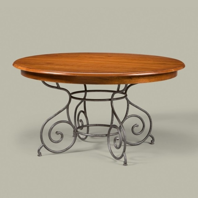 "Latest Brittany Dining Tables For Maisonethan Allen Brittany Table 56"" – Traditional – Dining (Gallery 2 of 20)"