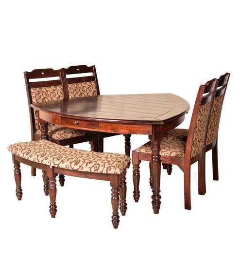 Latest Buy Baylor Solidwood 6 Seater Dining Tablehometown Online – Six In Dining Tables For Six (Gallery 15 of 20)