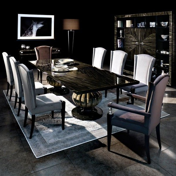 Latest Capital Decor // Kemp Dining Table – Statement Classic Dining Table For Cream Lacquer Dining Tables (View 11 of 20)