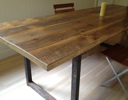 Latest Cheap Reclaimed Wood Dining Tables For Outstanding 8 Good Reclaimed Wood Farmhouse Dining Table (View 12 of 20)