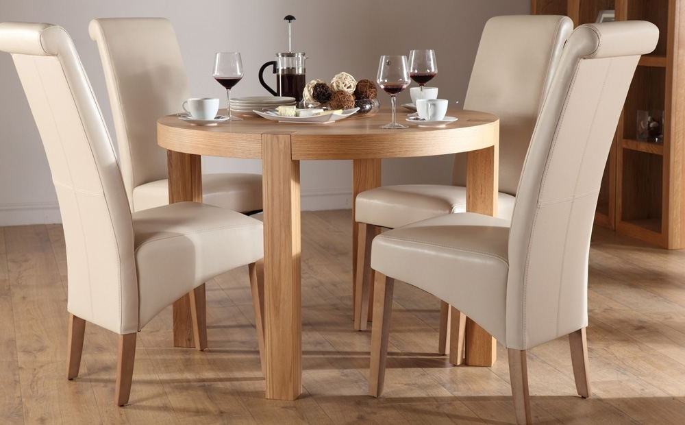 Latest Circular Dining Tables For 4 For Small Round Kitchen Table And 2 Chairs — Batchelor Resort Home Ideas (Gallery 7 of 20)
