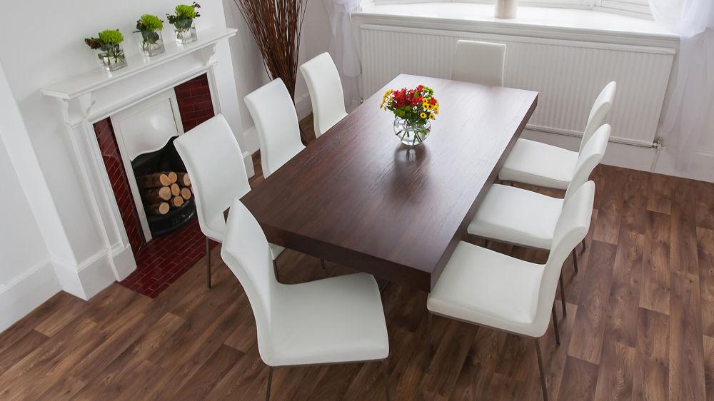 Latest Dark Wood Dining Table Set – Castrophotos For Dark Wood Dining Tables And 6 Chairs (Gallery 17 of 20)