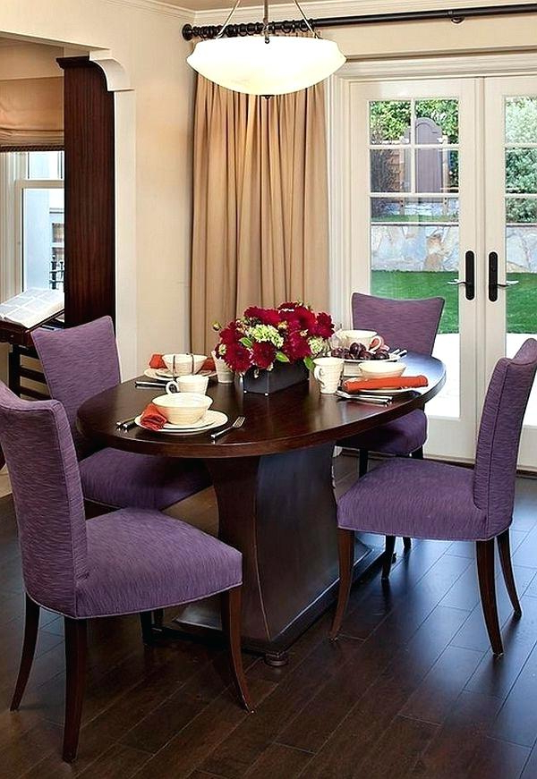 Latest Dining Tables And Purple Chairs With Stirring Purple Dining Table And Chairs Image Design – Portauthority (View 9 of 20)