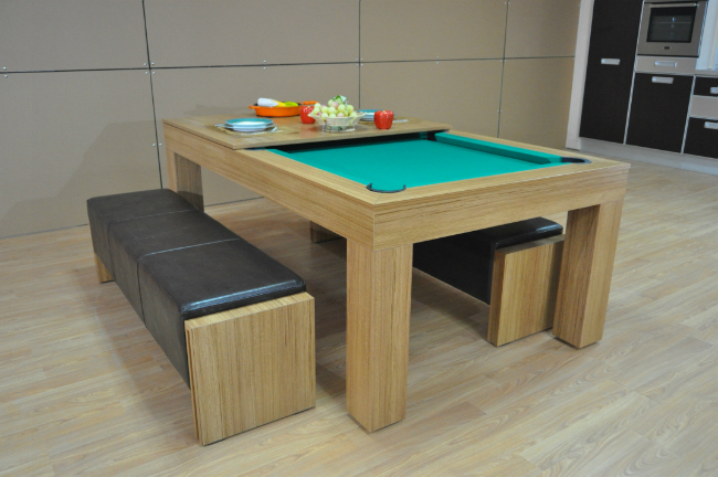 Latest Dining Tables For Eight For Milano Pool Dining Table – Eight To Ten Seater – Sam Leisure (Gallery 12 of 20)