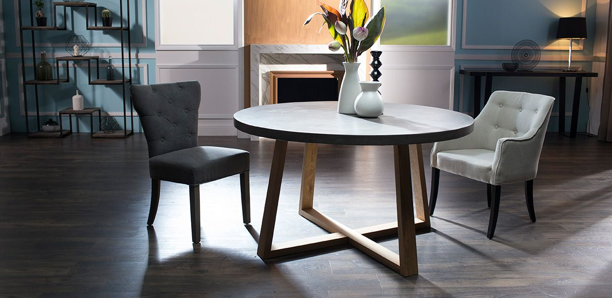 Latest Dining Tables London Within London Round – Dining Tables – Products (View 3 of 20)