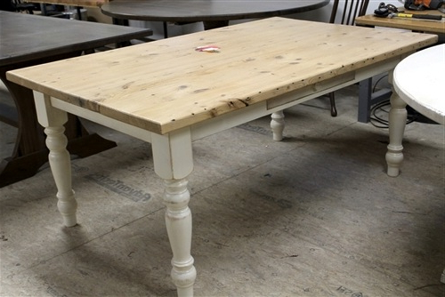 Latest Dining Tables With White Legs Intended For Farmhouse Tables (View 11 of 20)