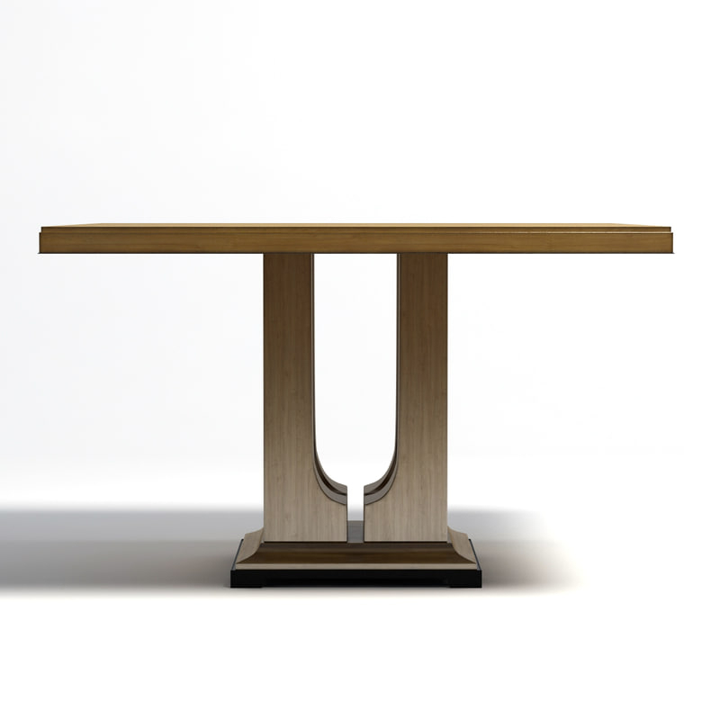 Latest Donghia – Laurent Dining Table Pertaining To Laurent Rectangle Dining Tables (View 8 of 20)