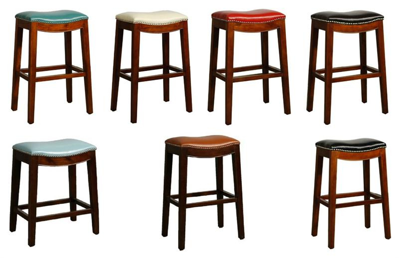 Latest Elmo Bounded Leather Bar Stool Regarding Valencia 5 Piece Counter Sets With Counterstool (View 11 of 20)
