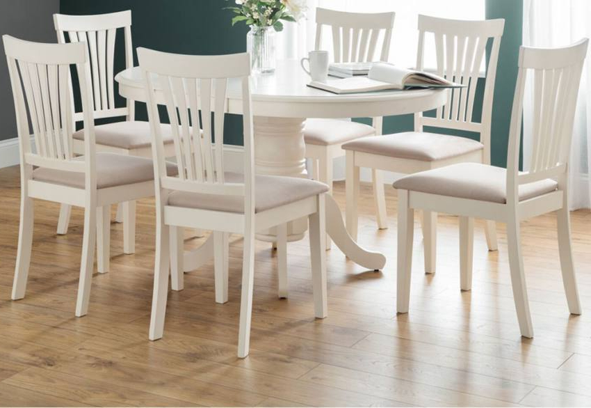 Latest Extending Dining Table Sets Inside Julian Bowen – Stamford Extending Dining Table Set – Country House (Gallery 11 of 20)