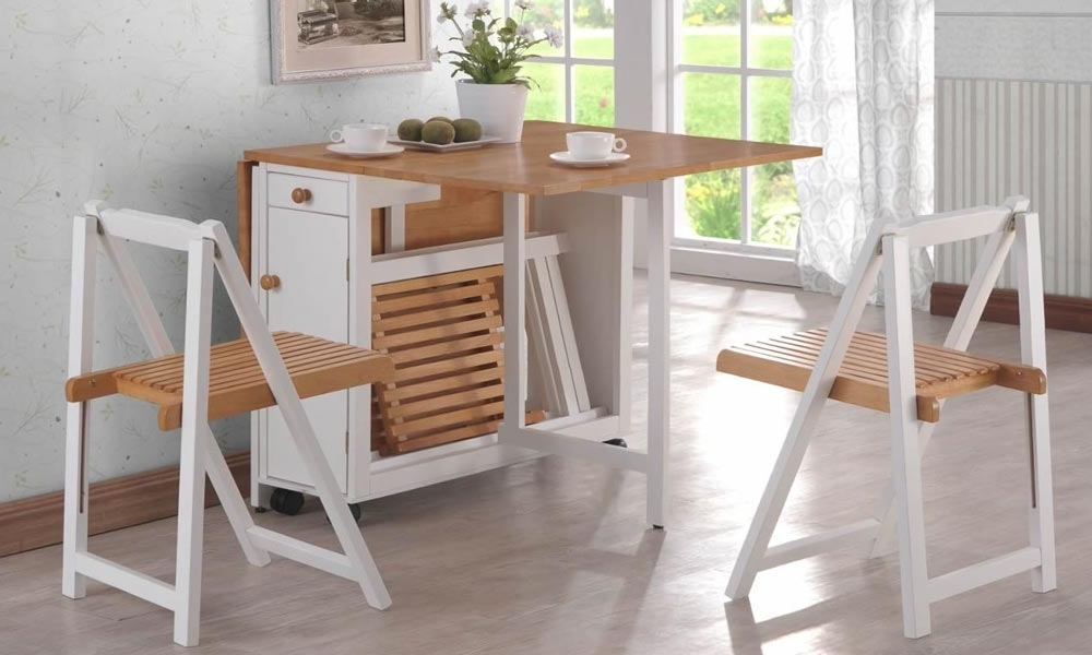 Latest Folding Dining Table To Optimized Your Space And Tips To Buy • Recous With Regard To Cheap Folding Dining Tables (View 10 of 20)